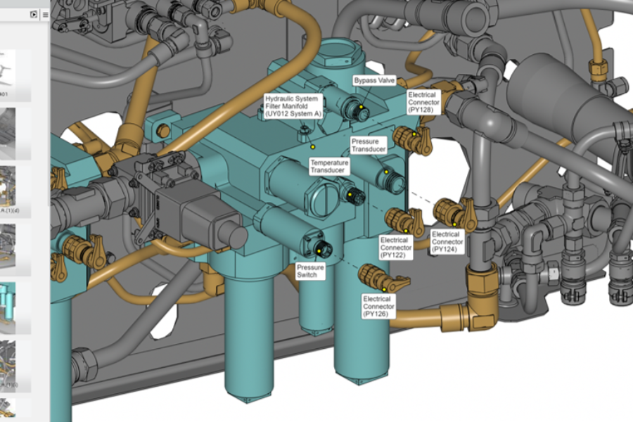 Textron Aviation advances the industry with interactive 3D technical manuals