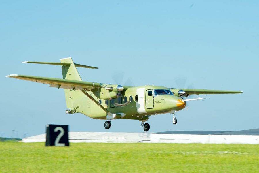 First Cessna SkyCourier twin utility turboprop takes flight