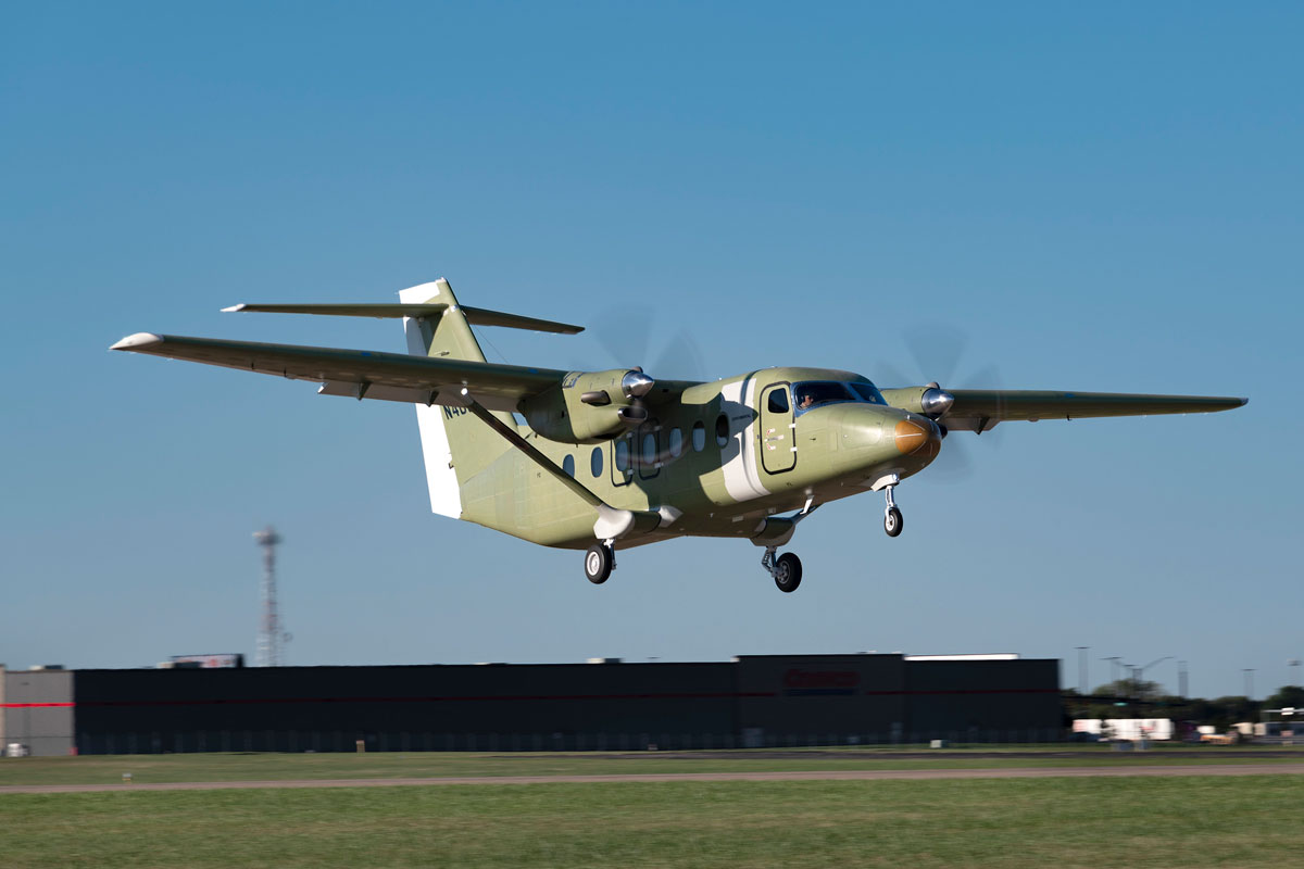 Third Cessna SkyCourier test aircraft joins flight test program