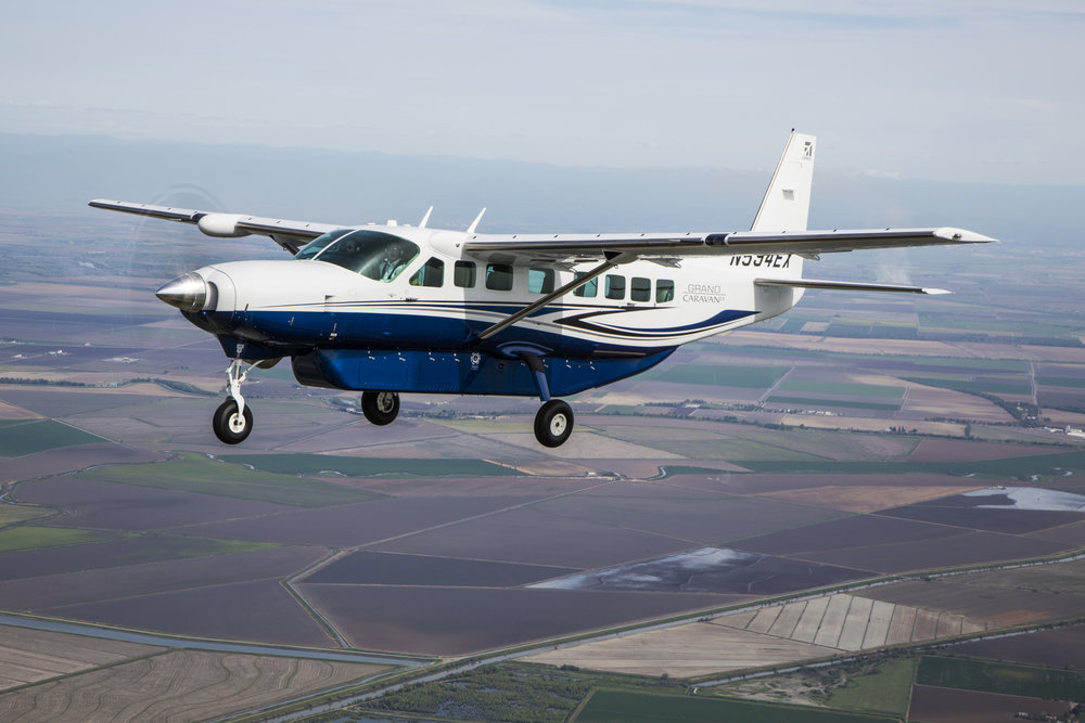 Textron Aviation announces order for up to 150 Cessna Grand Caravan EX aircraft to aid Surf Air Mobility in accelerating electrified commercial travel