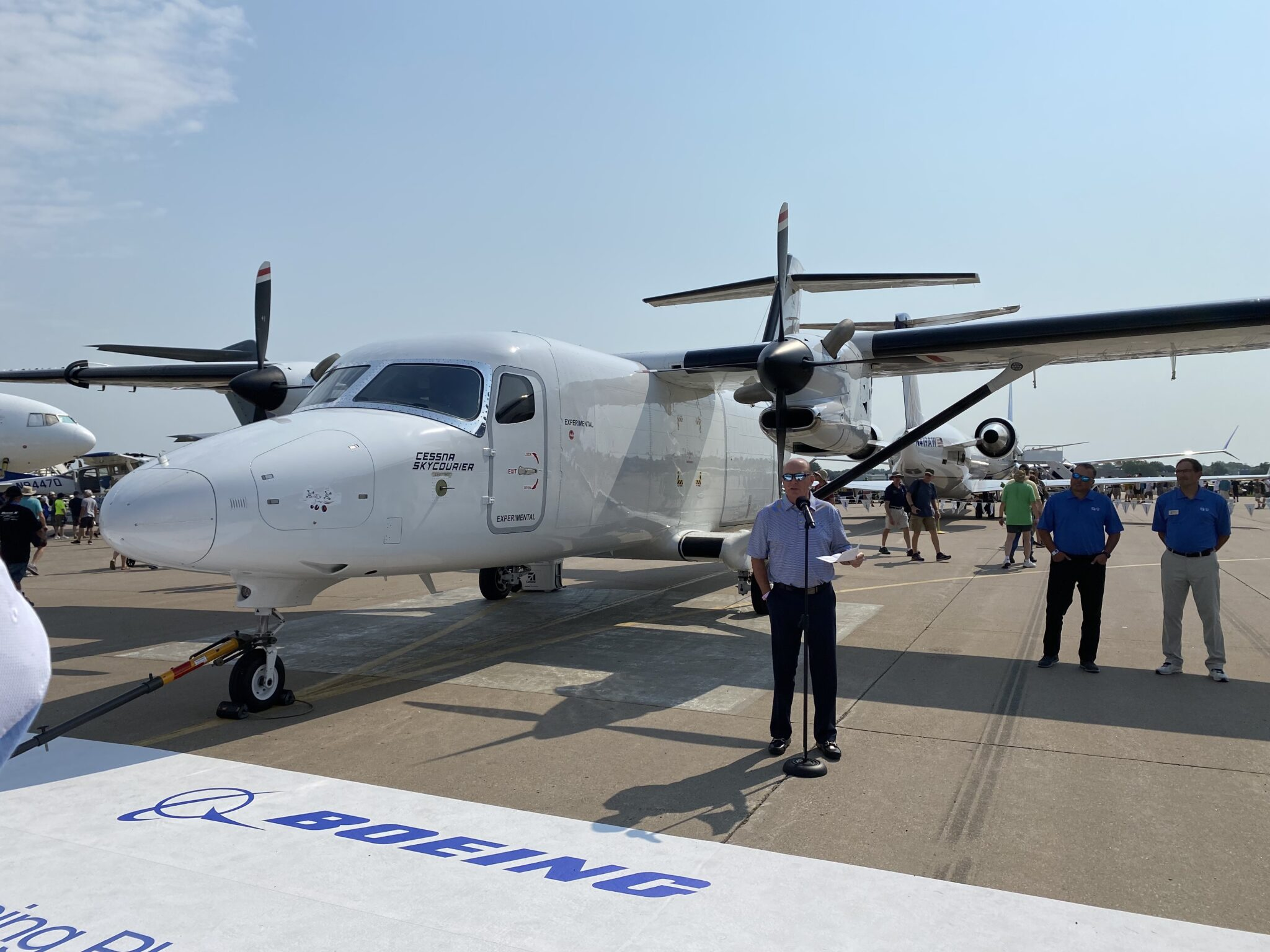 Cessna SkyCourier Makes Public Debut At AirVenture 2021