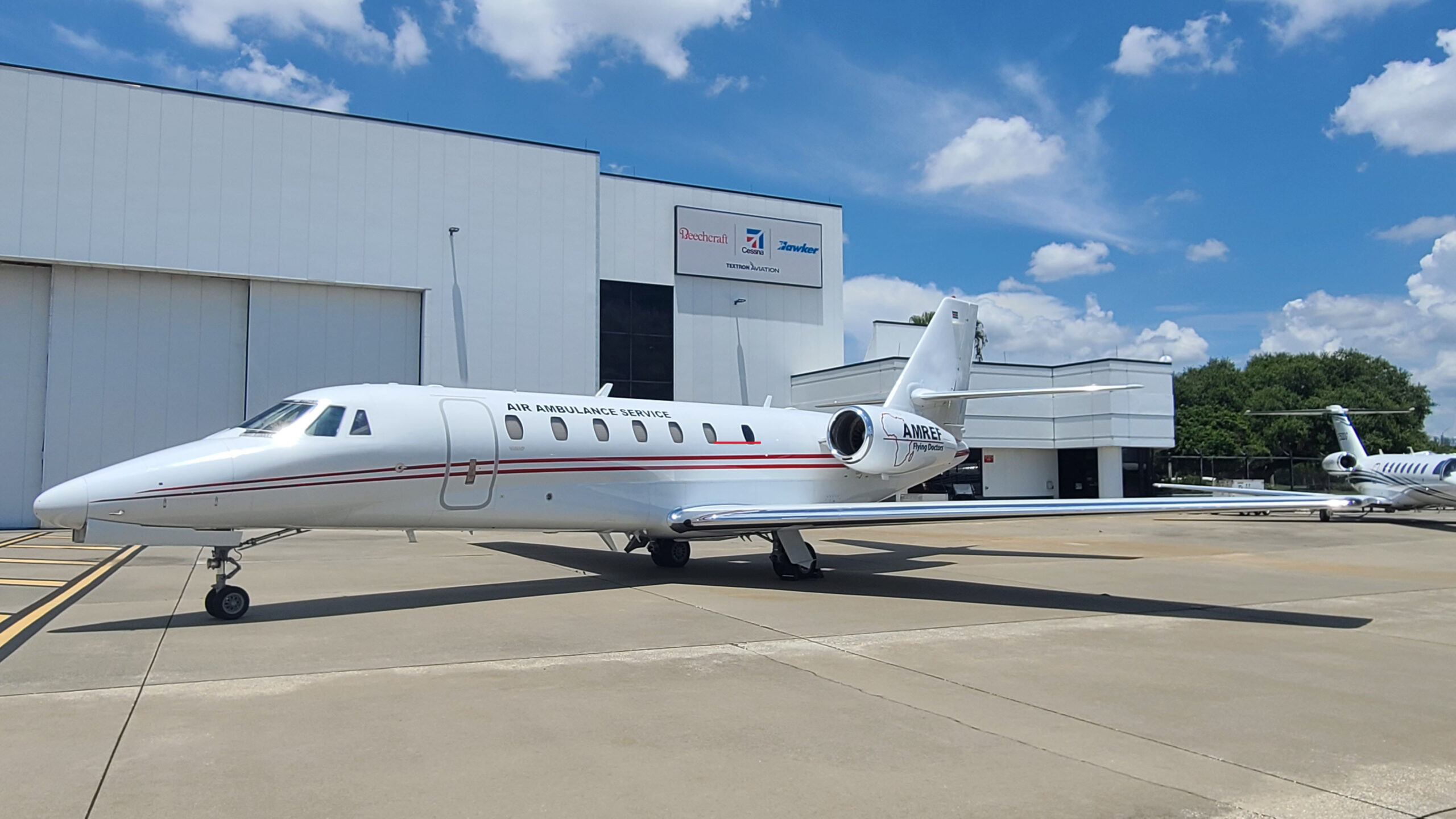 AMREF Flying Doctors adds Special Mission Cessna Citation Sovereign to their air ambulance fleet