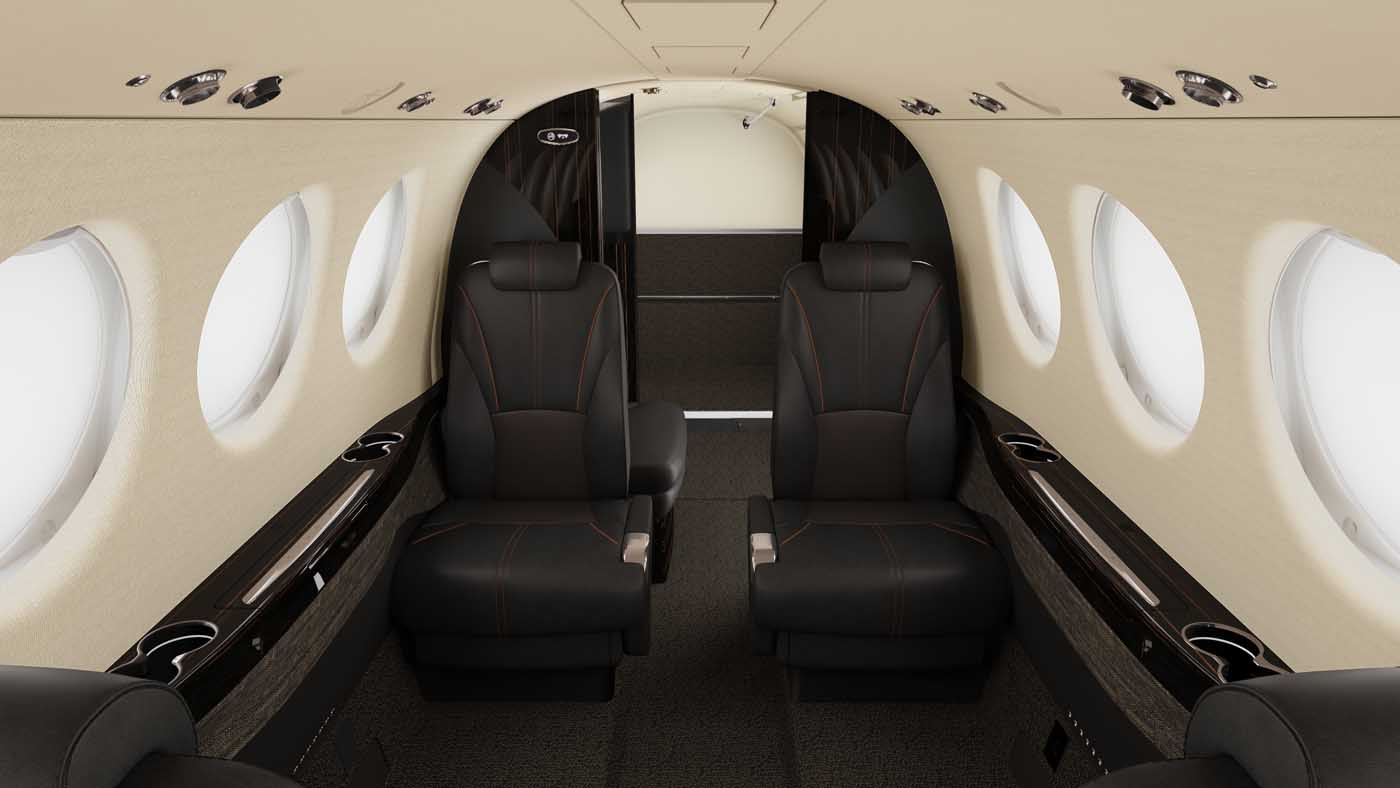 New interiors and cabin amenities introduced for Beechcraft King Air 260 twin turboprops