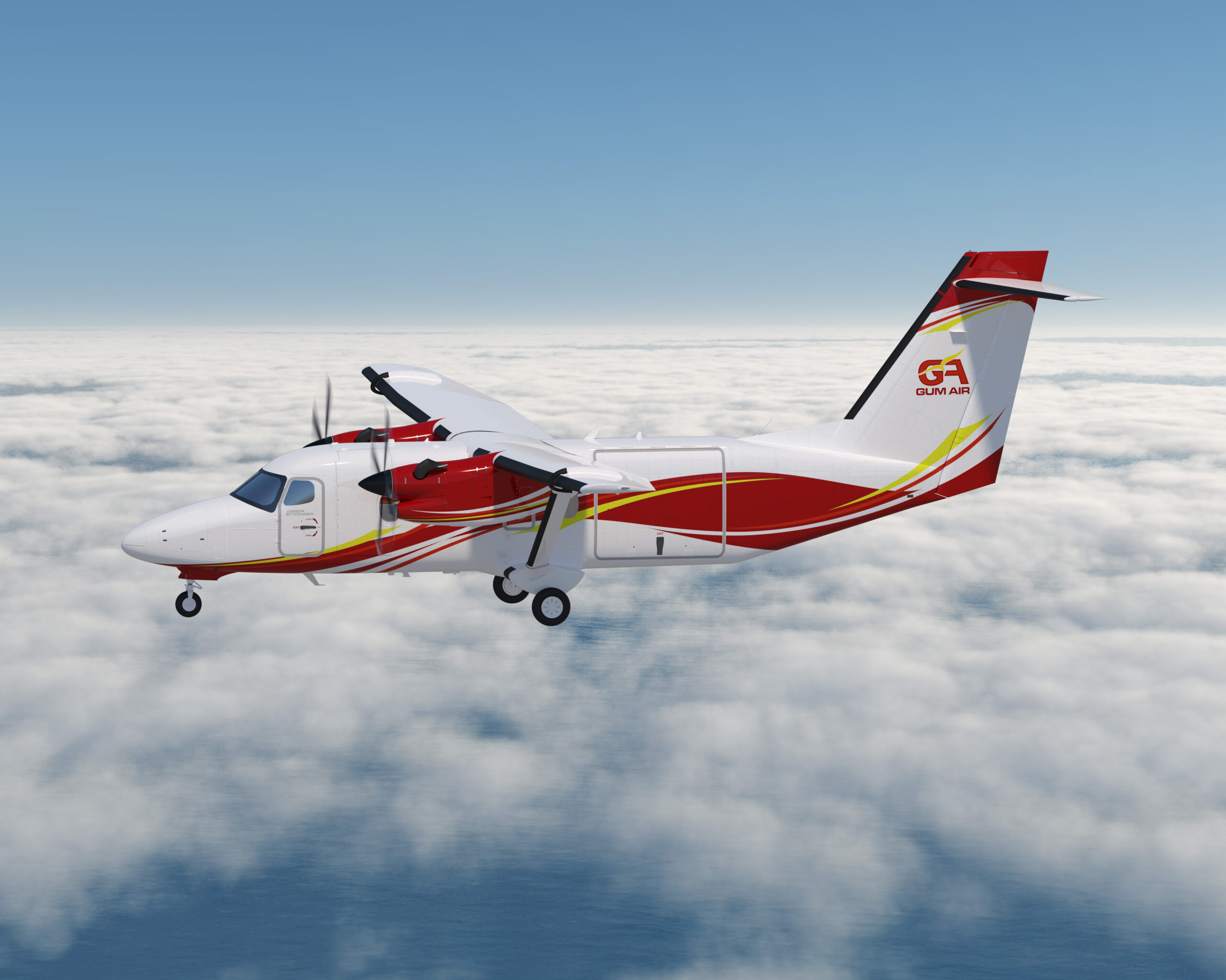 Gum Air places order to become the first operator in the Caribbean and Latin America to take delivery of a Cessna SkyCourier